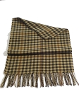 Autumn Checkered Unisex Scarf